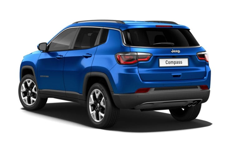 Jeep Compass SUV FWD 1.4 T MultiAirII 140PS Longitude 5Dr Manual [Start Stop] back view