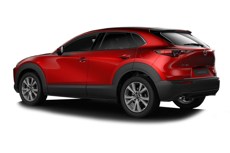 Mazda CX-30 SUV 4wd 2.0 SKYACTIV-X MHEV 180PS Sport Lux 5Dr Manual [Start Stop] back view