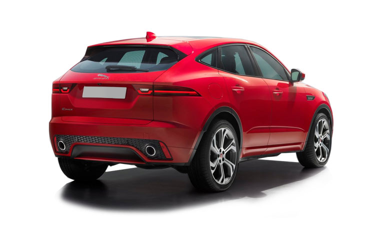Jaguar E-PACE SUV AWD 2.0 i MHEV 200PS SE 5Dr Auto [Start Stop] back view
