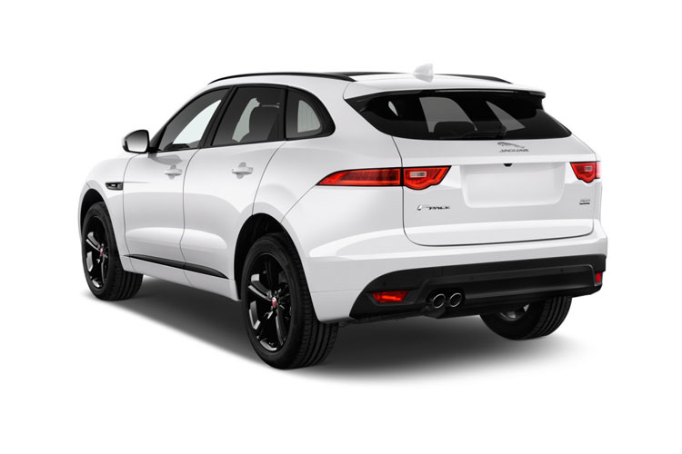 Jaguar F-PACE SUV AWD 2.0 i 250PS Portfolio 5Dr Auto [Start Stop] back view