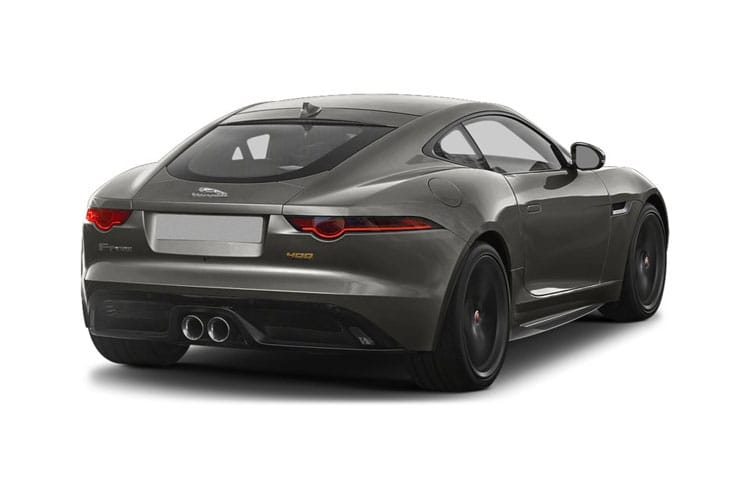 Jaguar F-TYPE Coupe AWD 5.0 V8 575PS R 2Dr Auto [Start Stop] back view