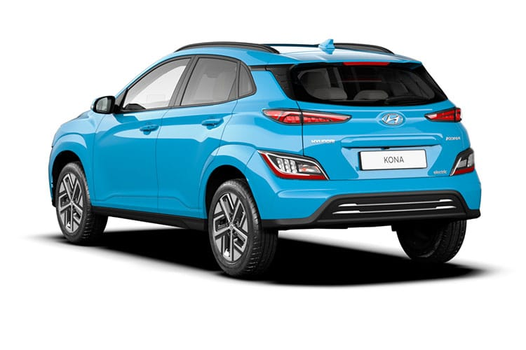 Hyundai KONA SUV Elec 64kWh 150KW 204PS Premium 5Dr Auto [10.5kW Charger] back view