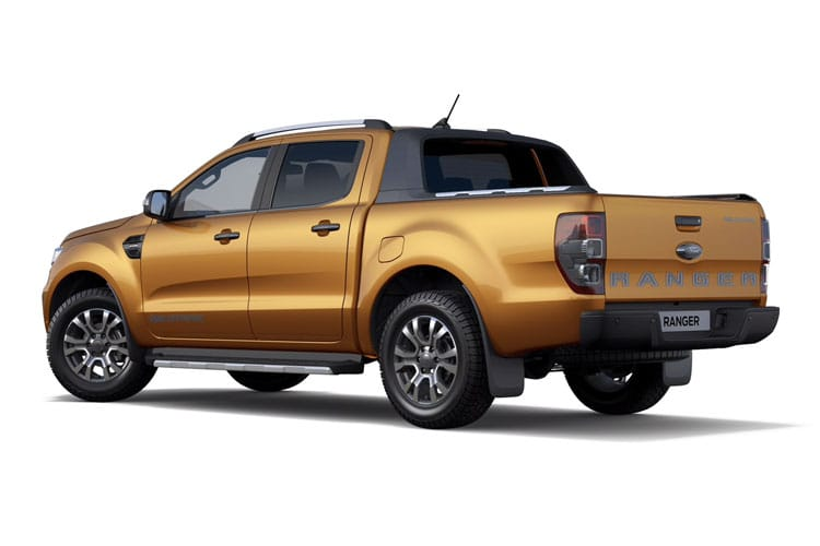 Ford Ranger PickUp Double Cab 4wd 2.0 EcoBlue 4WD 213PS MS-RT Pickup Double Cab Auto [Start Stop] back view