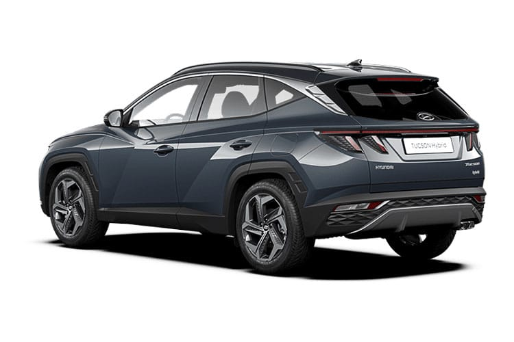 Hyundai Tucson SUV 1.6 T-GDi MHEV 150PS Ultimate 5Dr DCT [Start Stop] back view