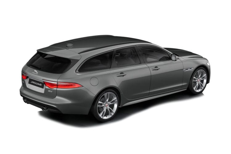 Jaguar XF Sportbrake 2.0 d 163PS R-Sport 5Dr Auto [Start Stop] back view