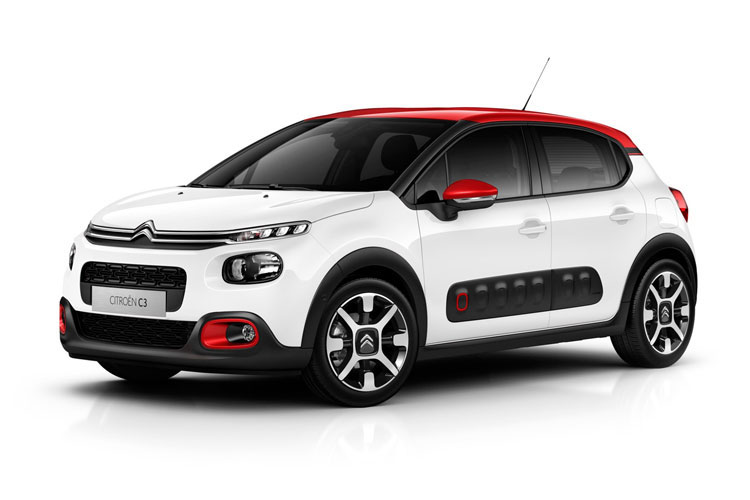 Citroen C3 Hatch 5Dr 1.2 PureTech 83PS Flair Plus 5Dr Manual [Start Stop] front view
