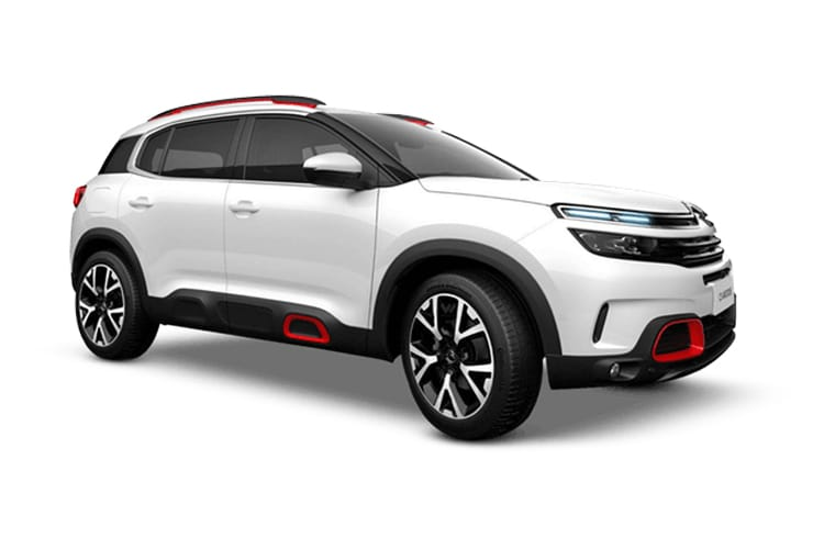 Citroen C5 Aircross SUV 1.6 PHEV 13.2kWh 225PS Shine Plus 5Dr e-EAT8 [Start Stop] front view