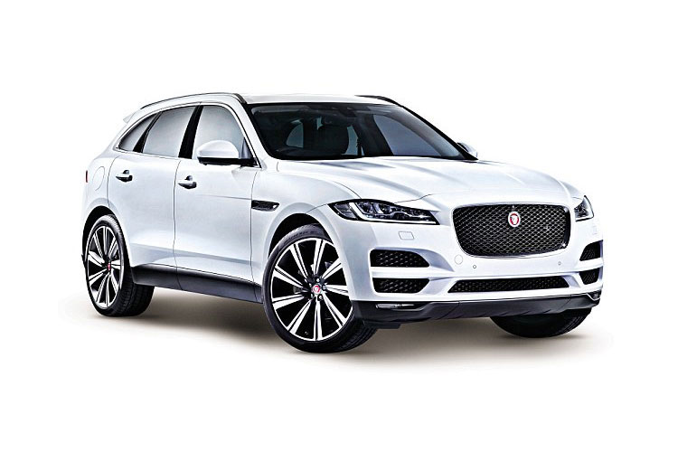 Jaguar F-PACE SUV AWD 2.0 i 250PS SE 5Dr Auto [Start Stop] front view