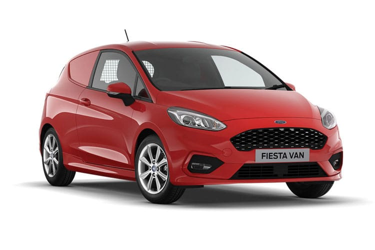 Ford Fiesta Van 1.0 EcoBoost FWD 95PS Trend Van Manual [Start Stop] front view
