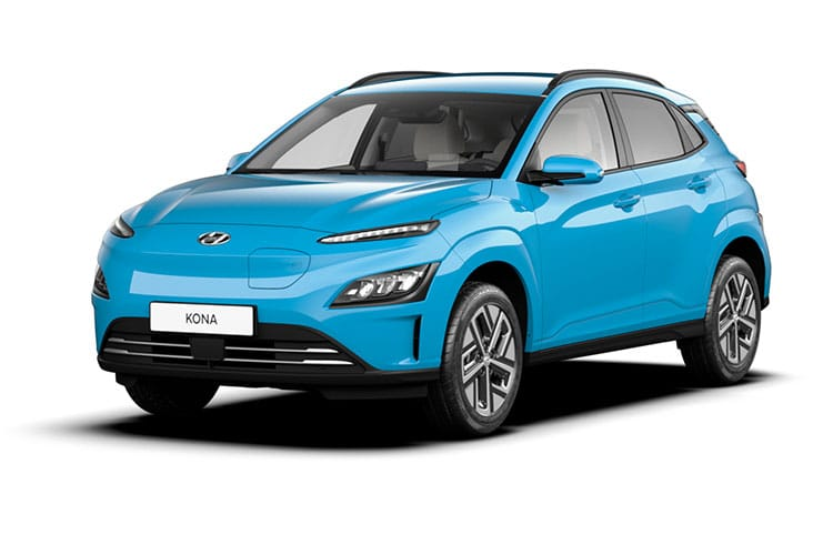 Hyundai KONA SUV Elec 64kWh 150KW 204PS Premium 5Dr Auto [10.5kW Charger] front view