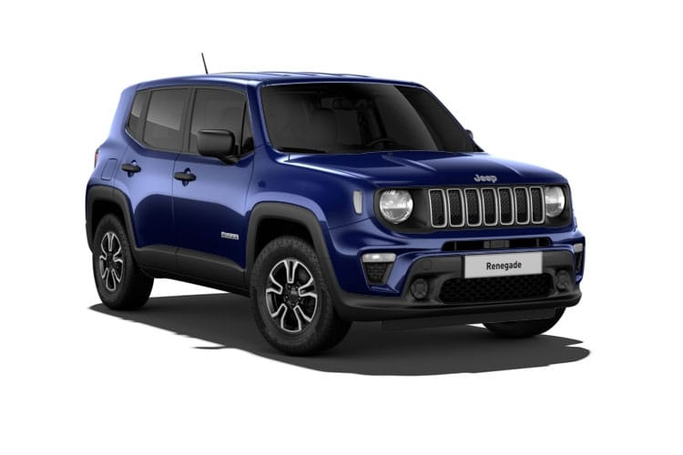Jeep Renegade 4x4 SUV 2.0 MultiJetII 170PS Trailhawk 5Dr Auto [Start Stop] front view