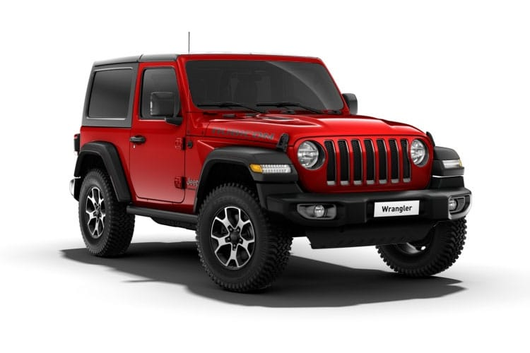 Jeep Wrangler SUV 4Dr 2.2 MultiJetII 200PS Rubicon 1941 4Dr Auto [Start Stop] front view