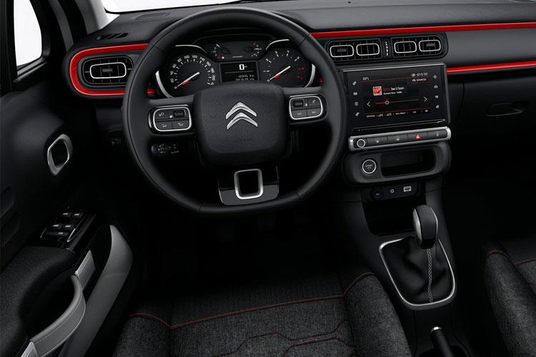 Citroen C3 Hatch 5Dr 1.2 PureTech 83PS Flair Plus 5Dr Manual [Start Stop] inside view
