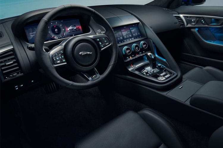 Jaguar F-TYPE Coupe AWD 5.0 V8 575PS R 2Dr Auto [Start Stop] inside view