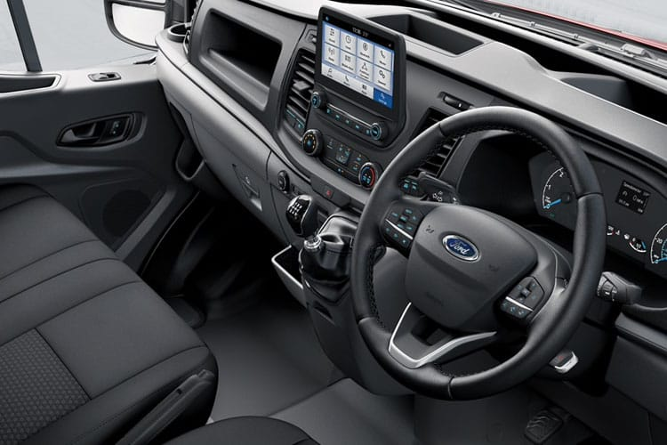 Ford Transit 350 L2 AWD 2.0 EcoBlue 4WD 130PS Leader Premium Dropside Manual [Start Stop] inside view