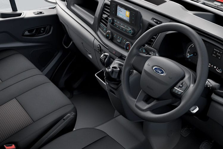 Ford Transit 350 L3 2.0 EcoBlue FWD 130PS Leader Chassis Double Cab Manual [Start Stop] inside view