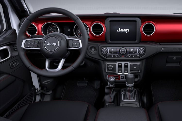 Jeep Wrangler SUV 2Dr 2.0 GME 272PS Sahara 2Dr Auto [Start Stop] inside view